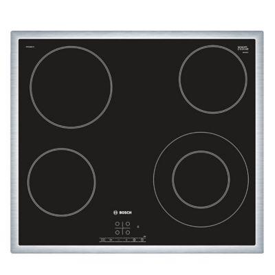 Anafe eléctrico vitrocerámica 4 discos negro