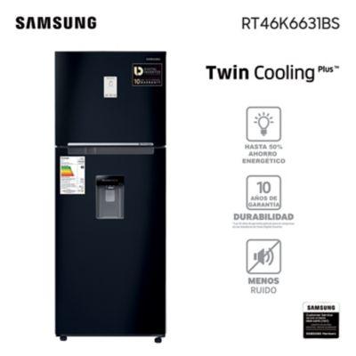 Refrigerador frio seco 466 L negro
