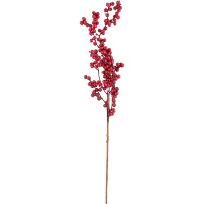 Baya brillante roja 60 cm