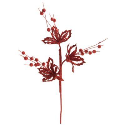 Bayas con Flor brillantes 53 cm