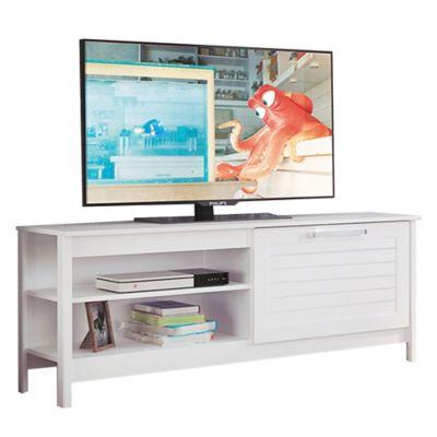 Rack de TV Leticia blanco 56 x 136 x 40 cm