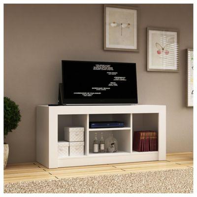 Rack de TV Fátima blanco 60 x 120 x 40 cm