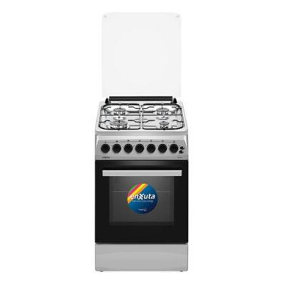 Cocina a gas CENX5542I 52 cm 4 hornallas inoxidable