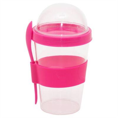 Yogurtera 350 ml rosa