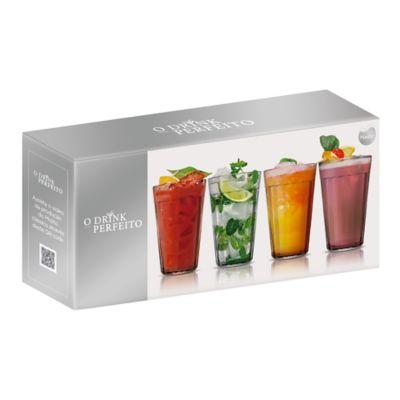 Pack de 4 vasos Americano 450 ml