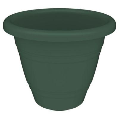 Maceta redonda 35 cm verde inglés