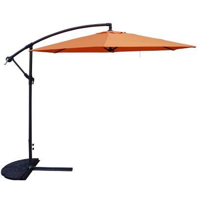 Sombrilla 245 x 270 cm naranja