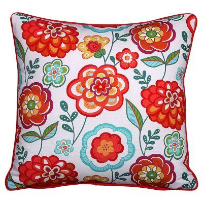 Almohadón Happy flower 45 x 45 cm multicolor