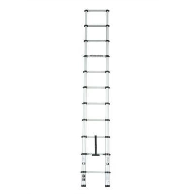 Escalera telescópica de aluminio 11 escalones 3.20 m