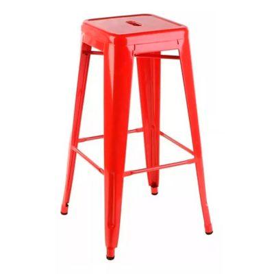 Silla bar Tolix roja