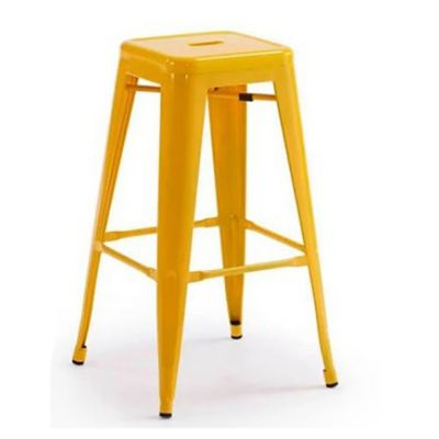 Silla bar Tolix amarilla