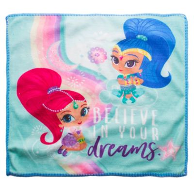 Toalla social Shimmer and Shine 30 x 30 cm multicolor