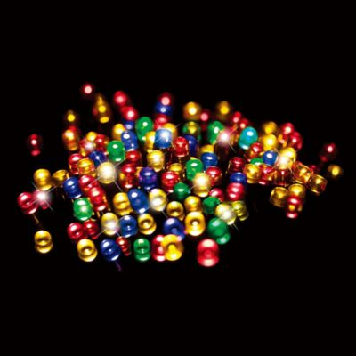 Luces de navidad solar LED lights 500 luces multicolor