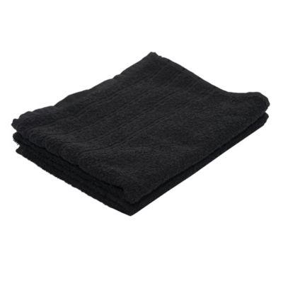 Toalla de mano 50 x 70 cm Elegance negra