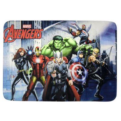 Alfombra infantil Avengers con memoria 117 x 77 cm