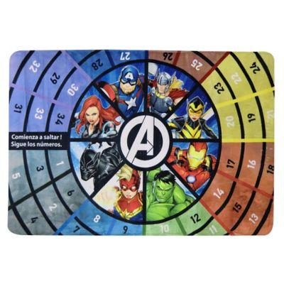 Alfombra infantil Avengers con memoria 197 x 127  cm