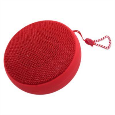 Parlante bluetooth 3 w rojo