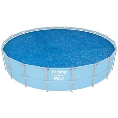 Cobertor solar para piscina redonda 549 cm