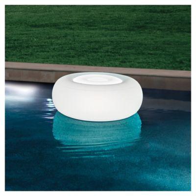 Puff con luz LED ottoman