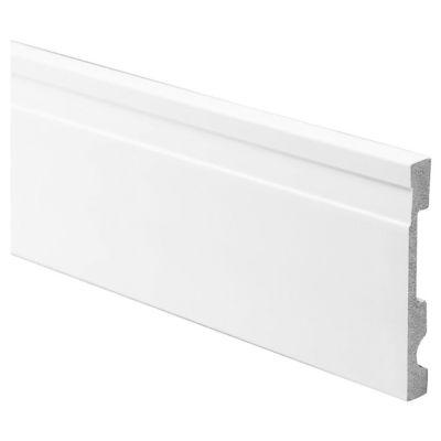 Zócalo de PVC 240 cm con buña