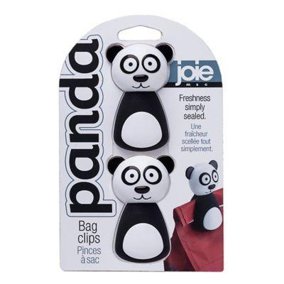 Pack de 2 pinzas para bolsa panda