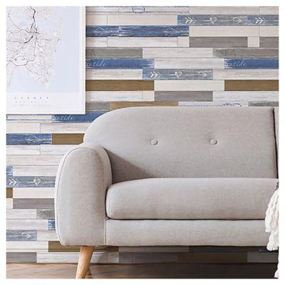 Revestimiento para pared 34 x 50 cm Mistral azul 1,94 m2