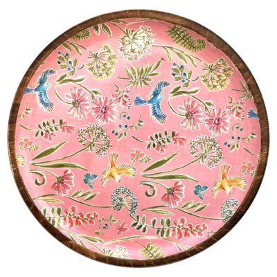 Plato Pájaros multicolor 23.5 cm
