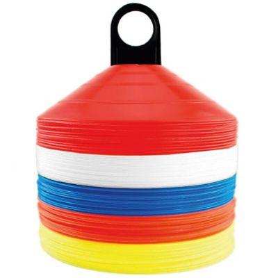 Set de 50 conos de plástico