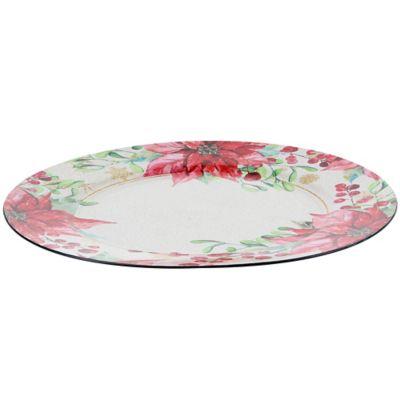 Base para plato Poinsettia 33 cm