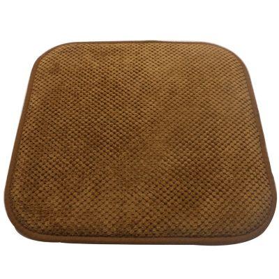 Pack de 2 almohadones para sillas Memory 42 x 42 cm chocolate