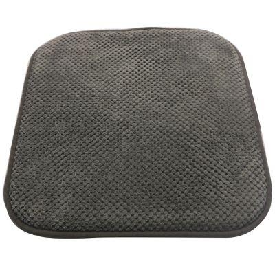 Pack de 2 almohadones para sillas Memory 42 x 42 cm gris