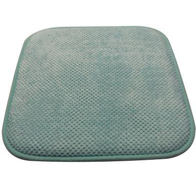 Pack de 2 almohadones para sillas Memory 42 x 42 cm turquesa