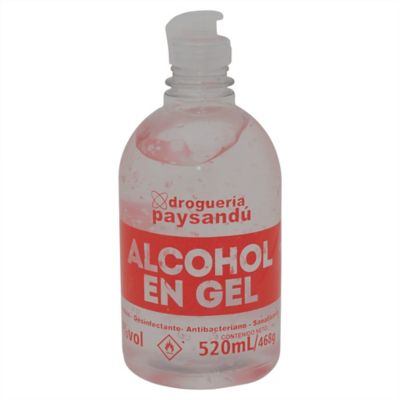 Alcohol en gel 520 ml