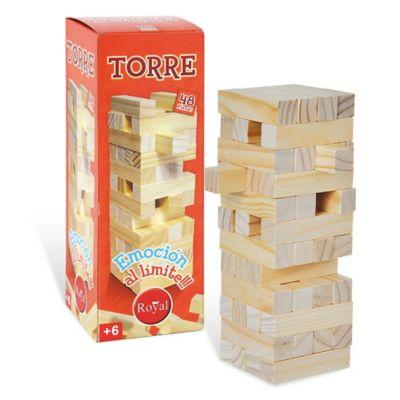 Juego de mesa Torres de madera