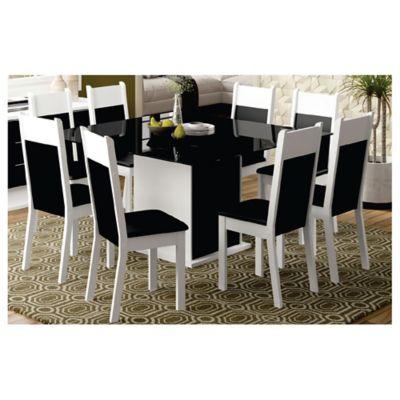 Juego de comedor Milena 1 mesa y 8 sillas