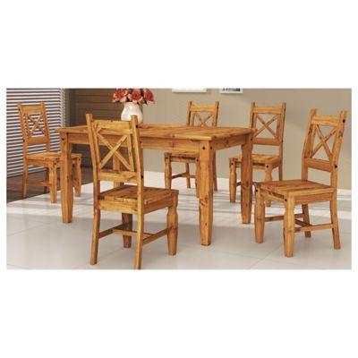 Juego de comedor Mexicano 1 mesa y 6 sillas