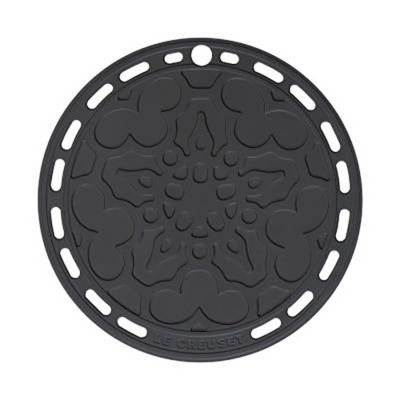 Salvamantel redondo 19.8 cm negro