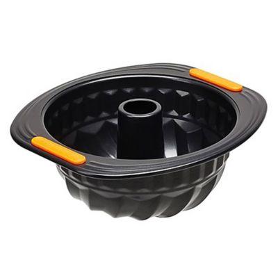 Molde corona redondo 22 cm negro