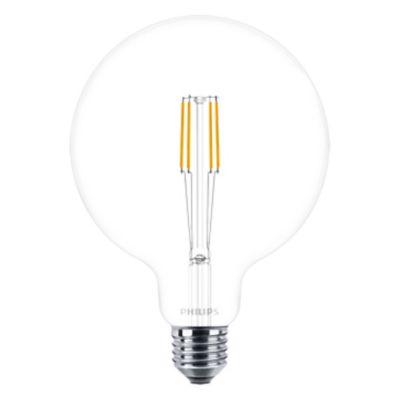 Lámpara de luz LED classic vintage 6 w G120 E27 830 luz cálida