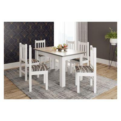 Juego de comedor San Pablo 1 mesa y 6 sillas