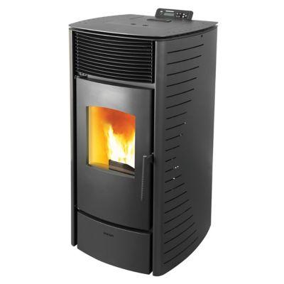 Calefactor a pellet Forte 10kw negro