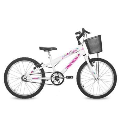 Bicicleta Next infantil Mountain bike blanca