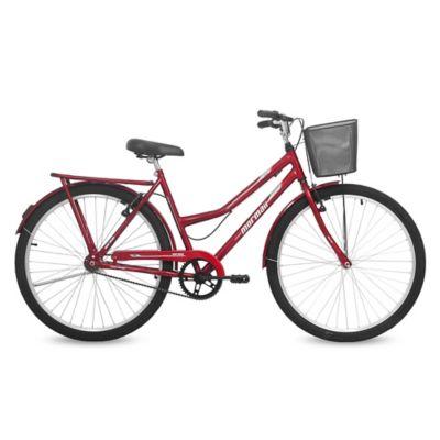Bicicleta Paseo Valente adulto roja