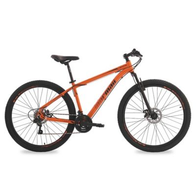 Bicicleta Venice adulto Mountain bike naranja y negra