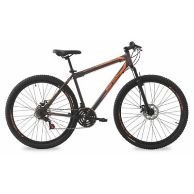 Bicicleta Jaws Pro adulto Mountain bike gris y naranja
