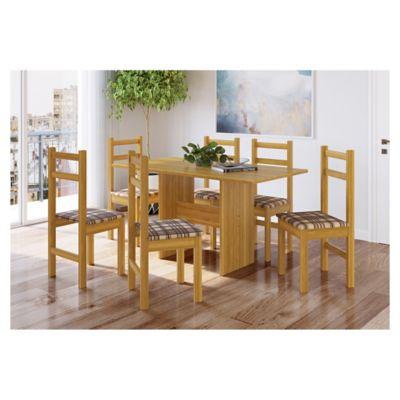 Juego de comedor 1 mesa y 6 sillas