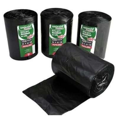 Pack de 100 bolsas negras 50 x 62 cm
