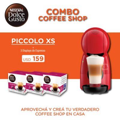 Cafetera Jovia 1500 w roja con 4 tazas