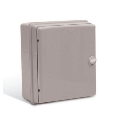 Caja para interruptores 13 módulos puerta opaca