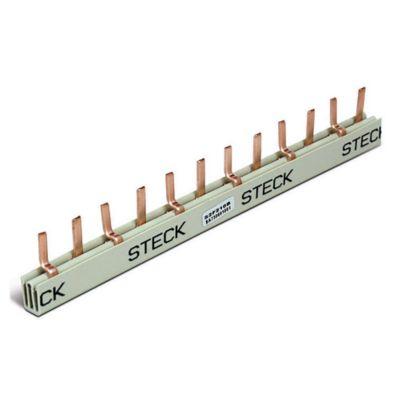 Puente conector 2 x 6 12 polos 80 amp